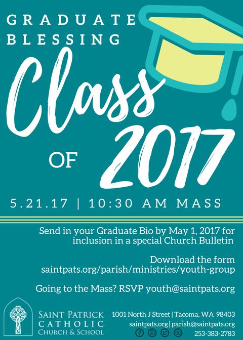 Graduate Blessing