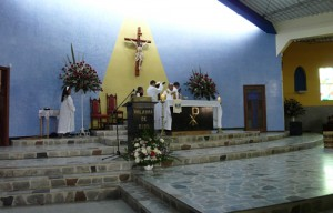 photo sister parish altar