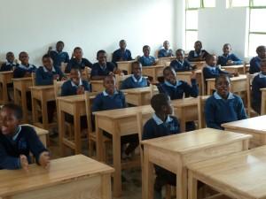 Zambia 2015 LJSS classroom