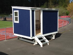 Andrew Jesse's Track & Field Booth at Bellarmine