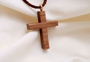Wooden Cross Necklace 800x550