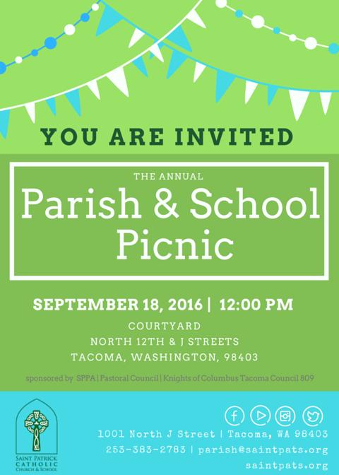 Picnic - Invite