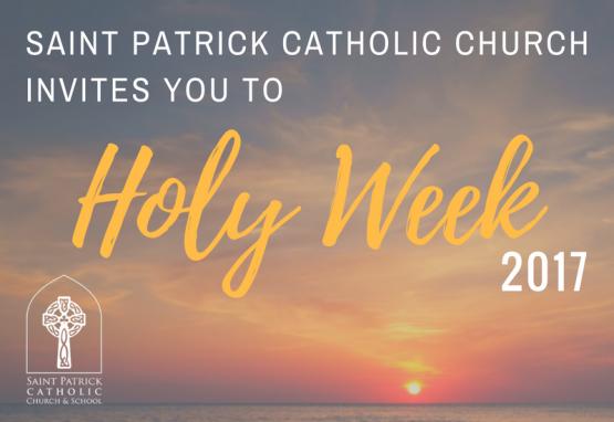 Holy Week 2017 800x550
