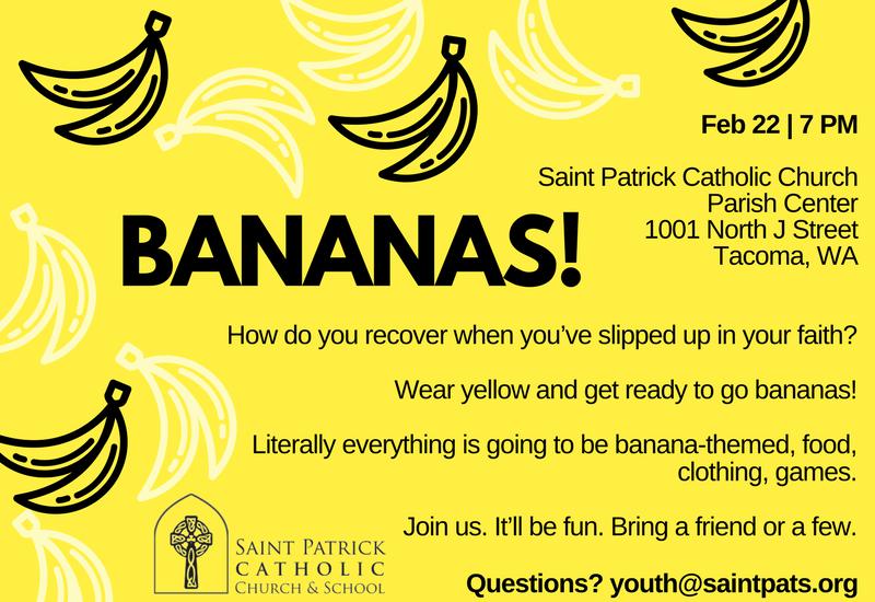 Yellow And Black Bananas Brother Birthday Card Saint Patrick