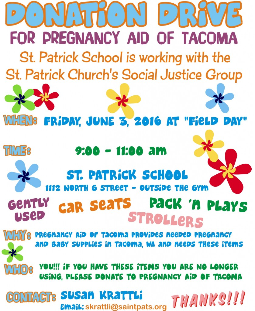 St Pats - Pregnancy Aid Flyer Final