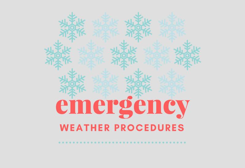 Emergency Weather Plan - St  Pat's Catholic School