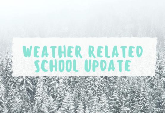 weather live updates school closures