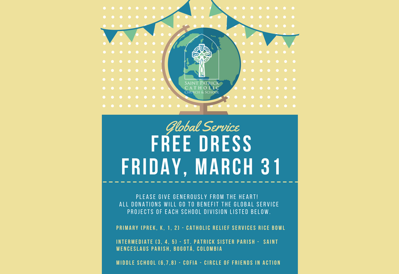 global free dress news